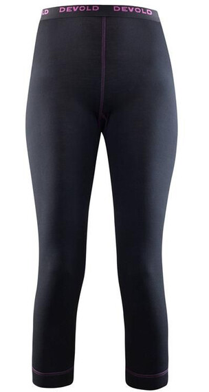 Devold W's Breeze 3/4 Long Johns Black (950)